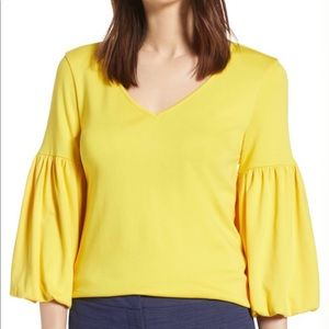 Halogen Blouson Sleeve Top